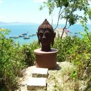 solo buddha head in Quy Nohn